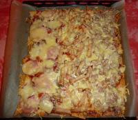 Gemischte Tortilla Pizza von der kleinen Karin